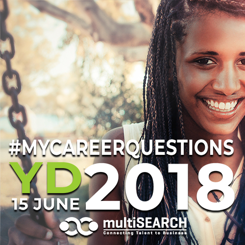 Youth Day 2018 multiSEARCH #mycareerquestions