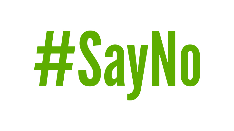 #SayNo to counter offers